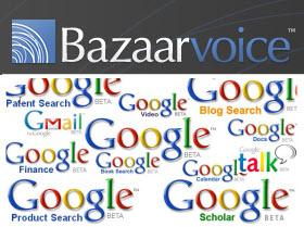 bazaar voice google