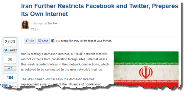 blockingtwitterfacebookiran