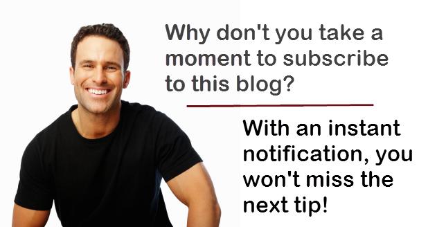 business success blog subscribe man