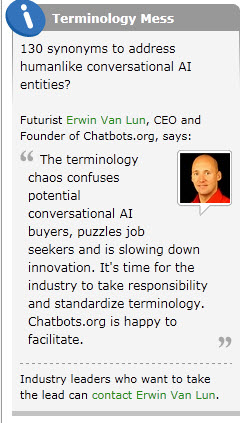 chatbots erwin van lun