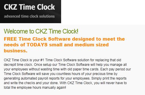 ckz time clock