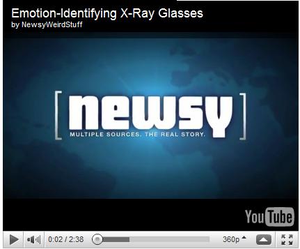 emotion indentifying x ray glasses