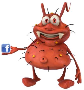 business alert facebook virus