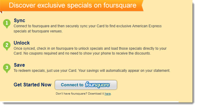 foursquare americanexpress 2