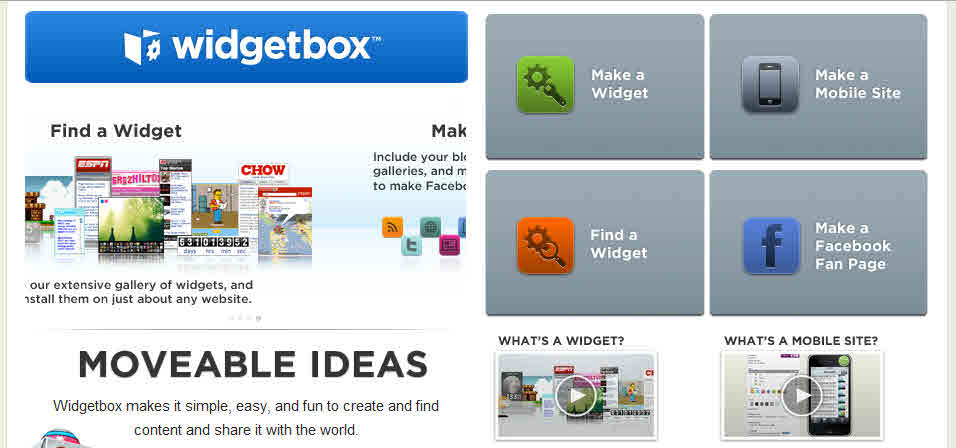 free software for business widgetbox