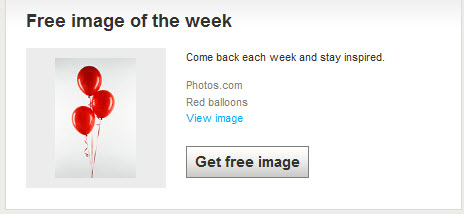 free image of the week