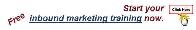 free inbound marketing training