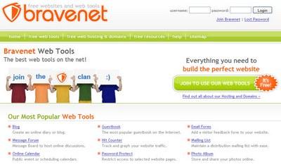 free business software bravenet