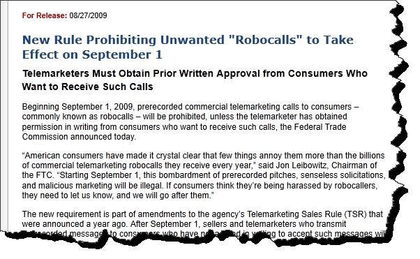 guerrilla marketing with robo calls
