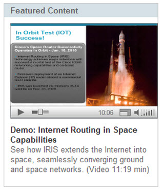 Interneet in Space