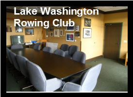 Lake Washington Rowing Club rooms