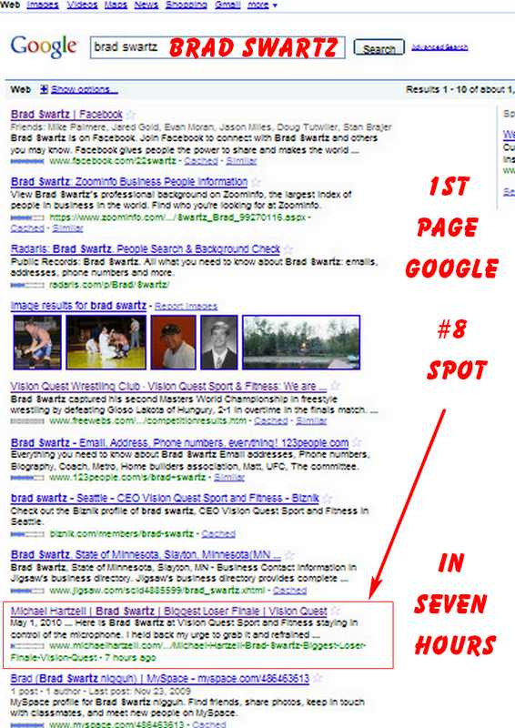 business on google #1 page