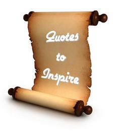 Quotations to inspire