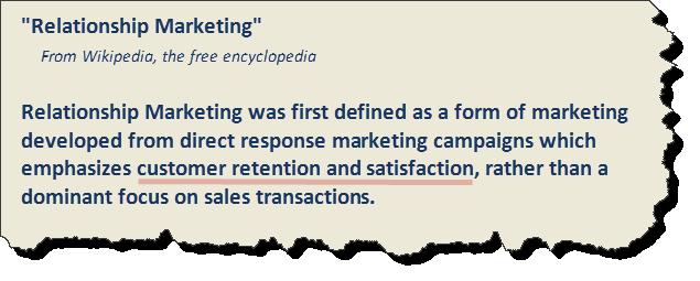 relationship marketing defined