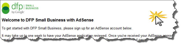 sign up for adsense