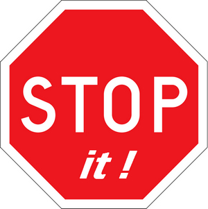 stopit sign