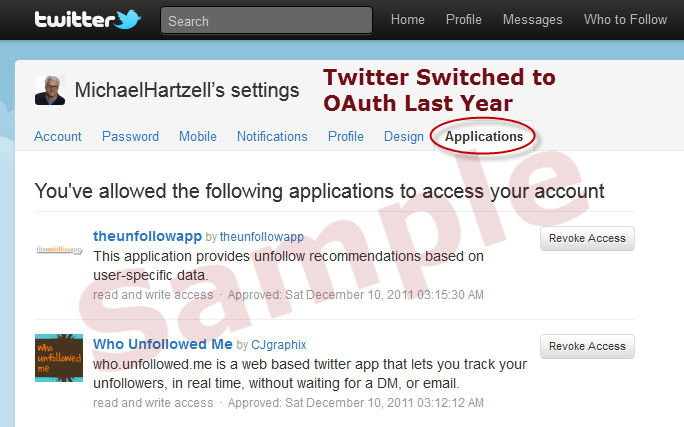 twitter applications
