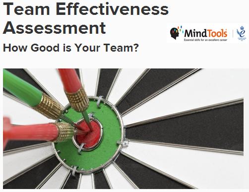 teamwork assessment mindtools
