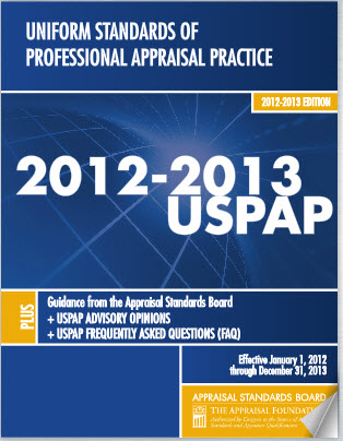 Uniform Standards Of Professional Appraisal Practices 85