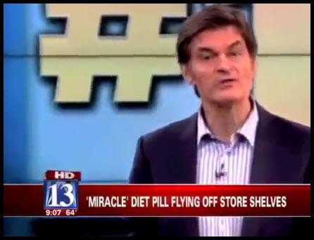 Dr. Oz New Diet Pill