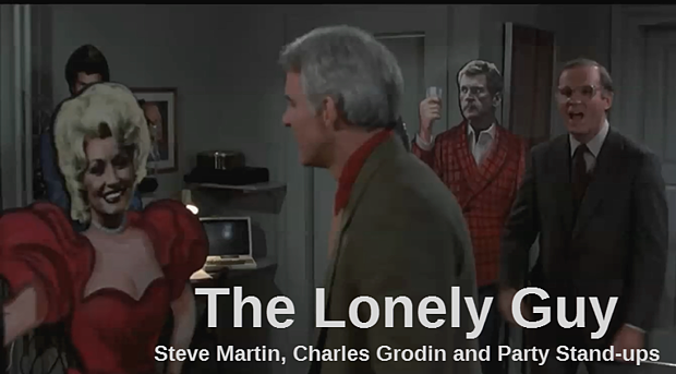 the lonely guy house party