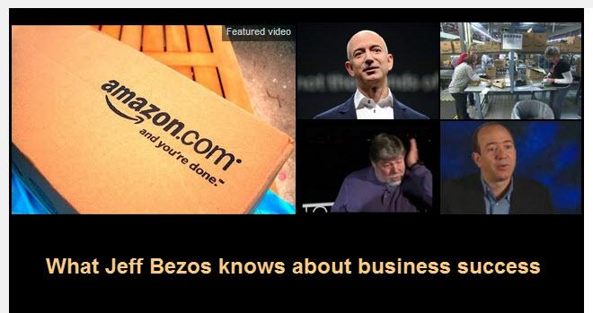 jeff bezos business success